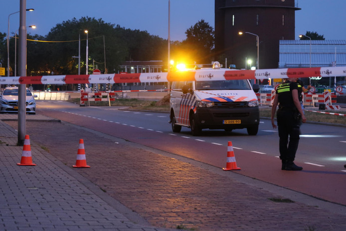 Schoten gelost bij ruzie in Breda.