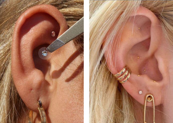 """Deux exemple de """"ear seeding""""."""