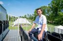 MECHELEN Bart Vanvoorden op één van de tribunes van festival Broek in het Vrijbroekpark