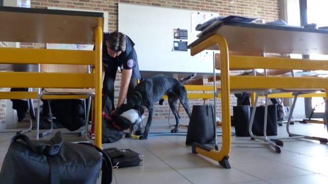 Politie controleert 103 leerlingen op drugsbezit in Sint Maria Geel: drugshond reageert zes keer positief