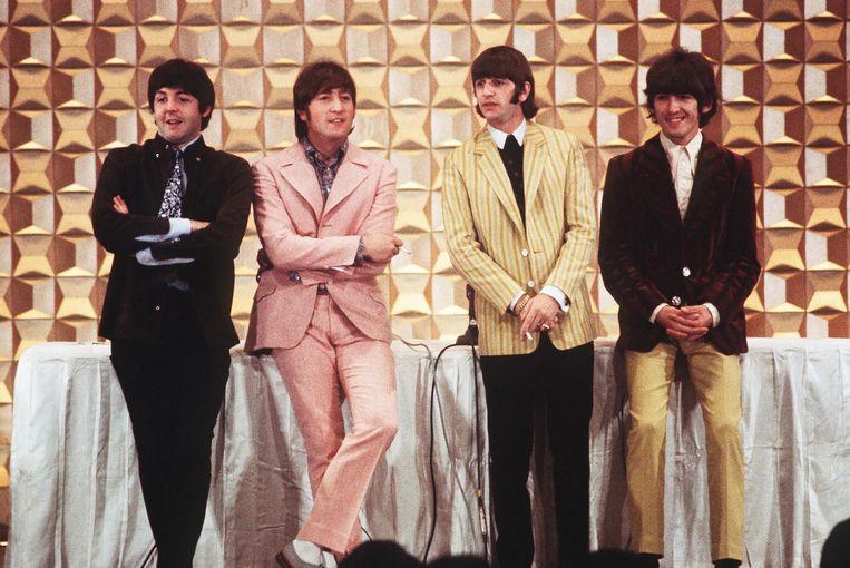 Paul, John, Ringo en George Beeld AFP