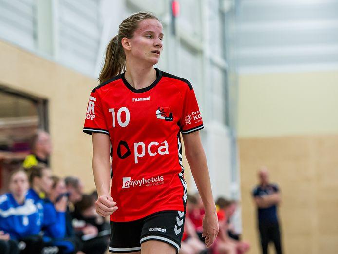 Romé Steverink won met Oranje U19 het EHF-kampioenschap, het EK voor B-landen.