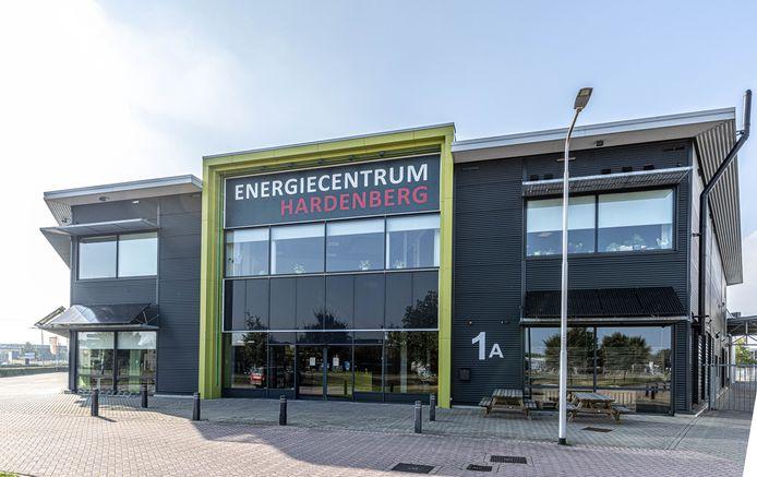 Het pand van DGB-Energie in Hardenberg.
