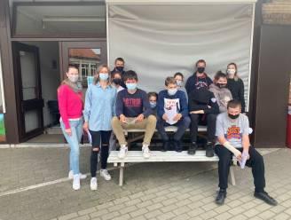 Leerlingen van BuSo De Brug in Aarschot leren externe partners kennen aan de hand van een informatieve wandeling: 'What's up in Osschot'