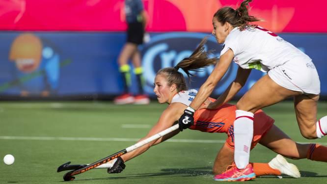 Titelverdediger Nederland geraakt ook niet voorbij Spanje