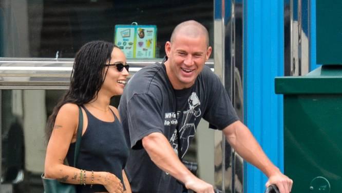 Zoë Kravitz en Channing Tatum hand in hand gespot