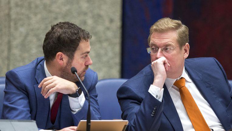 Dijkhoff en Van der Steur Beeld anp
