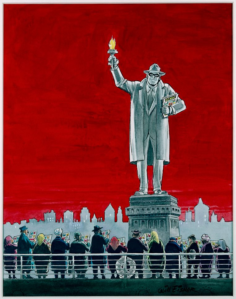The Spirit, Will Eisner. Beeld © Ann Eisner