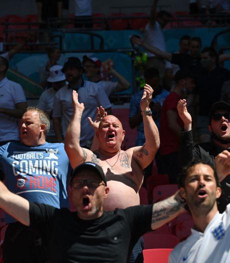 Engeland in een warm bad: 'Voetbal komt altijd thuis op Wembley'