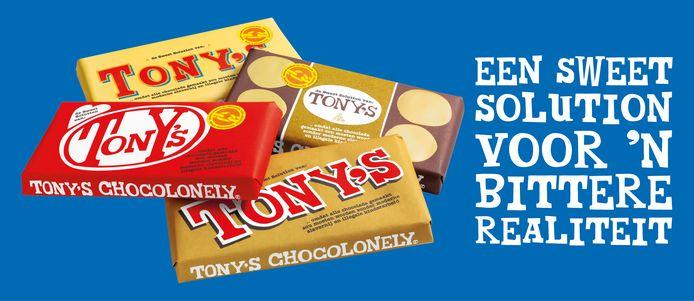 Campagnerepen van Tony's Chocolonely.
