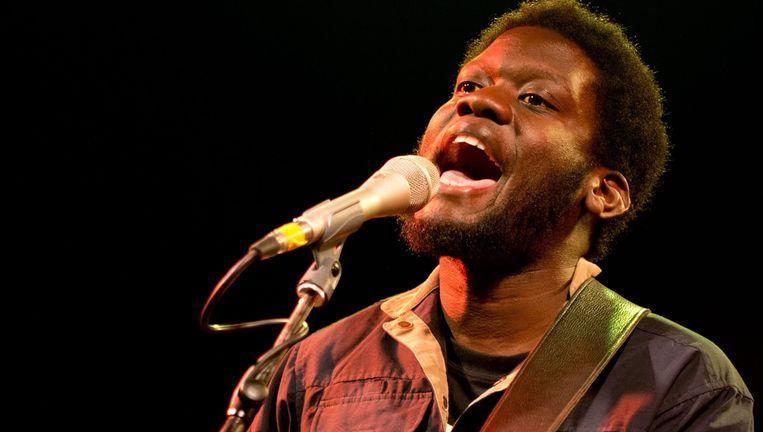 De Britse singer-songwriter Michael Kiwanuka speelt op zondag 7 augustus op het festival. Beeld EPA
