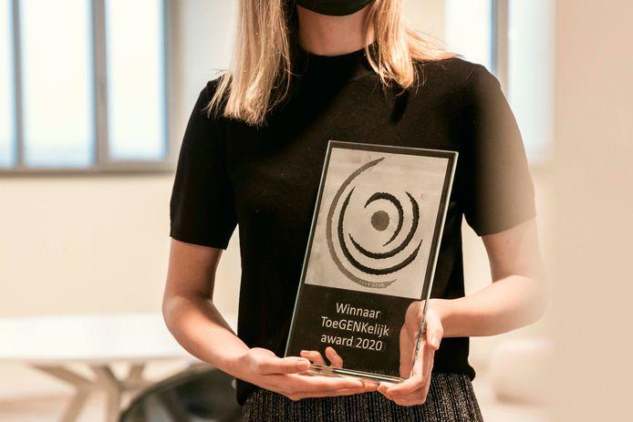 De ToeGenkelijk-award.