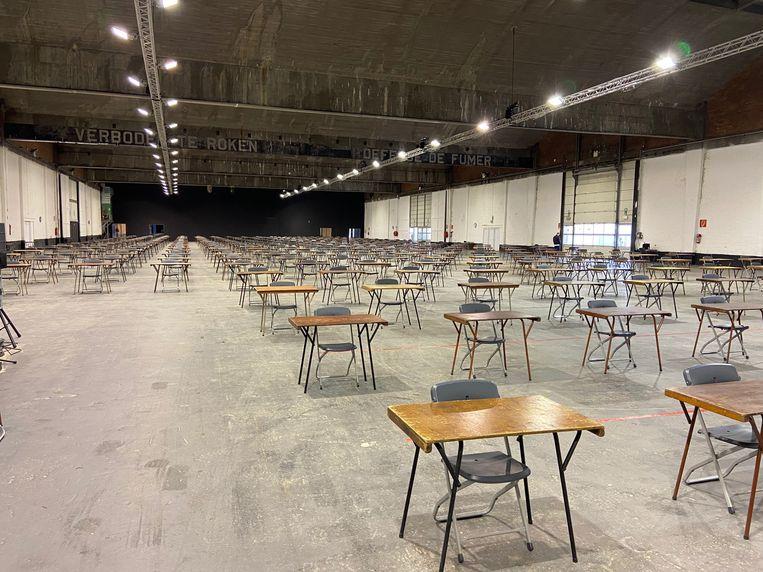 De Waagnatie in Antwerpen is klaar om studenten te ontvangen. Beeld UAntwerpen