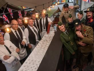 Crazy THOG Saloon en feest bij Volksopbeuring