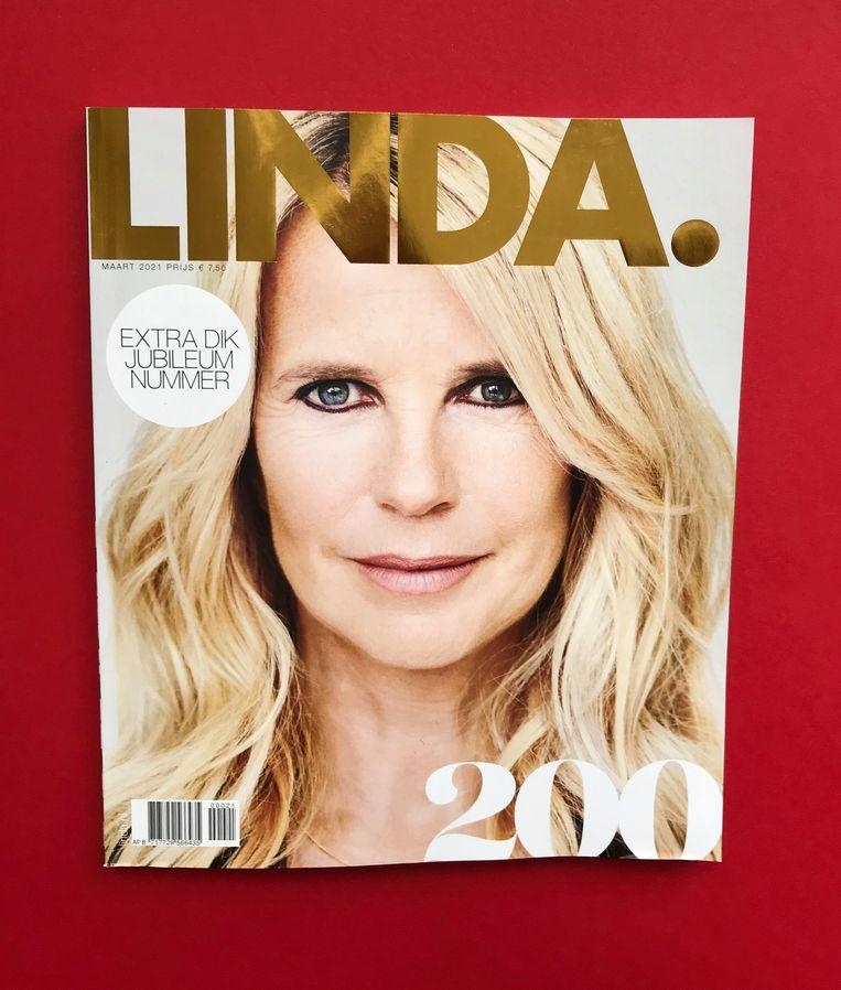 Het jubileumnummer van Linda. Beeld