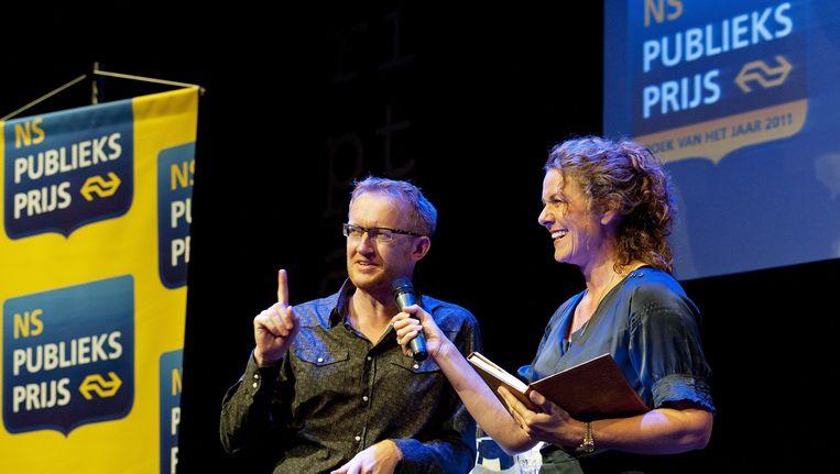 David Van Reybrouck werd in 2011 ook al eens genomineerd voor de NS Publieksprijs. Beeld ANP