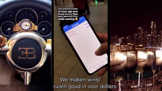 """HLN DOC. Sluwe bedrijven beloven jongeren luxeleven op social media: """"Meer dan 1.000 euro verloren, al had het veel erger kunnen zijn"""""""
