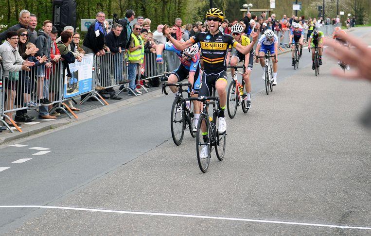 Vorig jaar haalde junior Henri Vandenabeele het voor Fabio Van den Bossche en Jasper Van den Plas in Neerijse