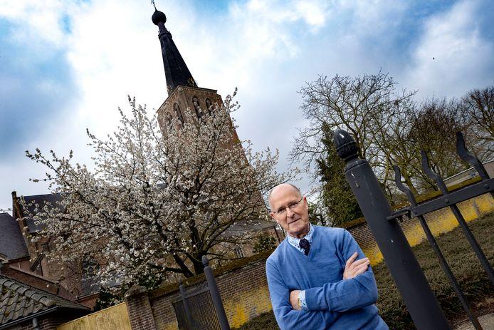 Pastor Wim van Meijl was maanden uit de running vanwege corona