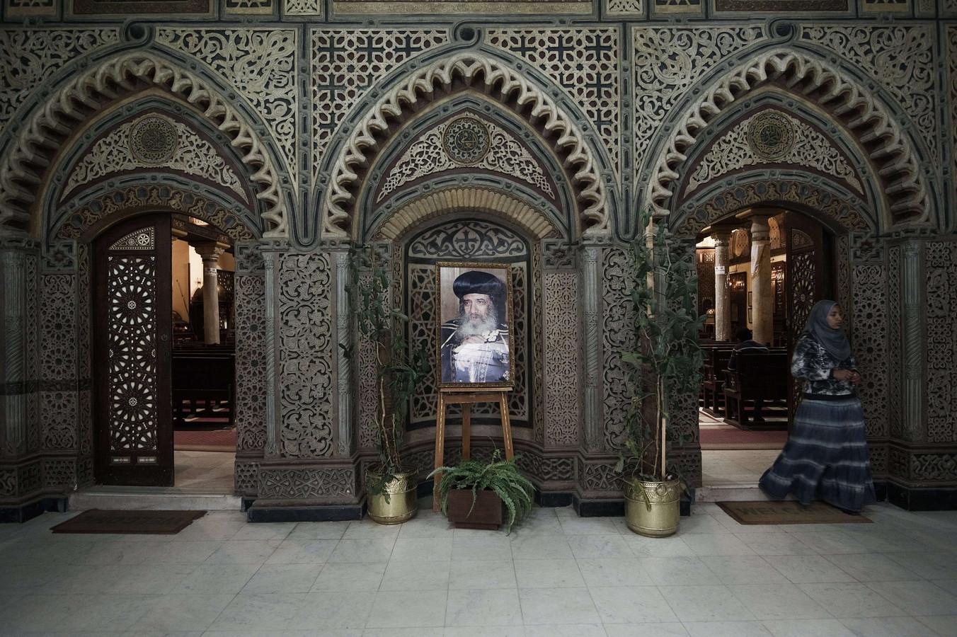 Een koptische kerk in Cairo.