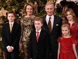 Zo zou de kerstkaart van Filip en Mathilde er moeten uitzien