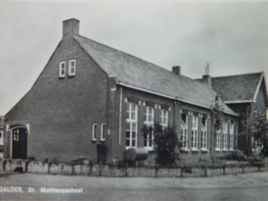 De oude Mattheusschool in Galder
