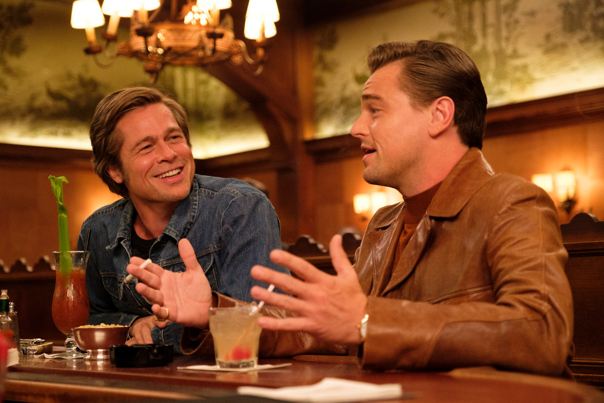Still uit  'Once Upon a Time in Hollywood'. Beeld EPA