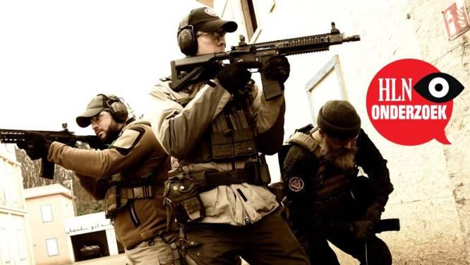 Met échte wapens deze keer: zo trainen leden van 'Schild en Vrienden' in buitenlandse militaire kampen