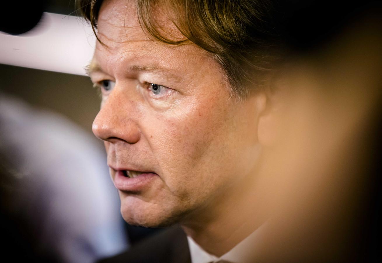 Joël Voordewind (ChristenUnie) in de Tweede Kamer