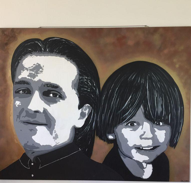 Portret van Alexander en Laurent Beeld