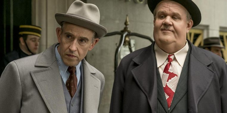Steve Coogan en John C. Reilly in 'Stan & Ollie' van Jon S. Baird. Beeld