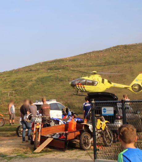 Motorcrosser uit Lunteren ernstig gewond in Barneveld