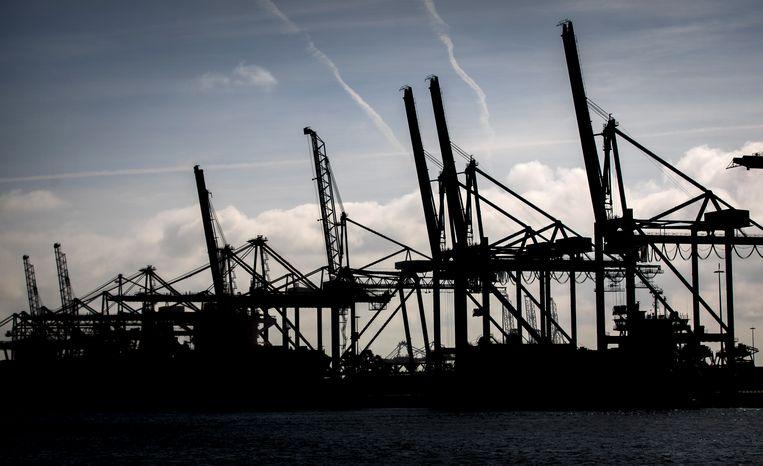 De haven van Rotterdam. Beeld Hollandse Hoogte /  ANP
