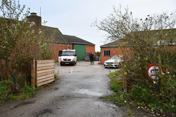 In een loods in Westdorpe werd eind vorig jaar een drugslab ontdekt.