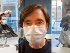 Bouchez, Di Rupo, Clarinval: les politiques s'affichent chez le coiffeur pour la réouverture