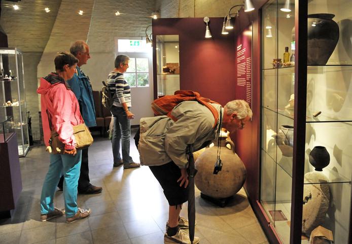 Het Archeologisch Museum in Aardenburg.