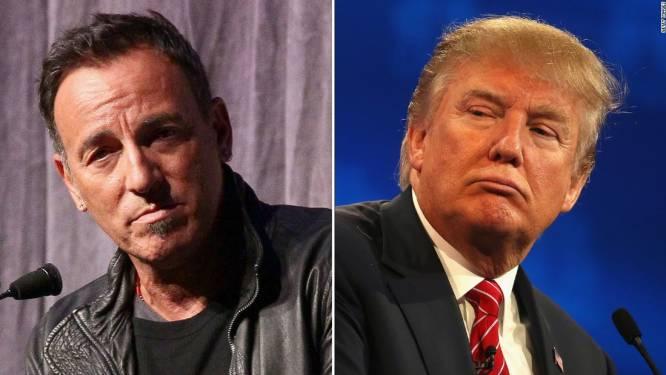 "Bruce Springsteen berispt Donald Trump: ""Zet een fucking masker op"""