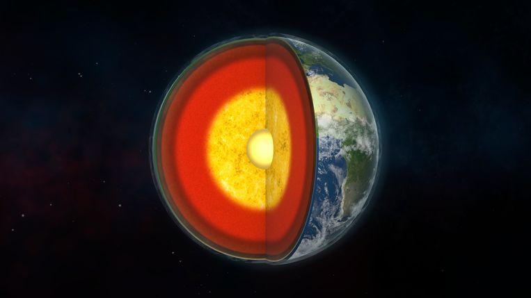 De aardkorst – de buitenste laag van onze aarde – ontstond al veel korter na de vorming van de aarde, zo lijkt Noors onderzoek aan te geven. Beeld Getty Images/Science Photo Libra