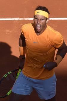 Djokovic delft het onderspit in meeslepende partij tegen Nadal