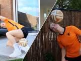 Balkunstenares Jasmijn daagt Oranje-internationals uit