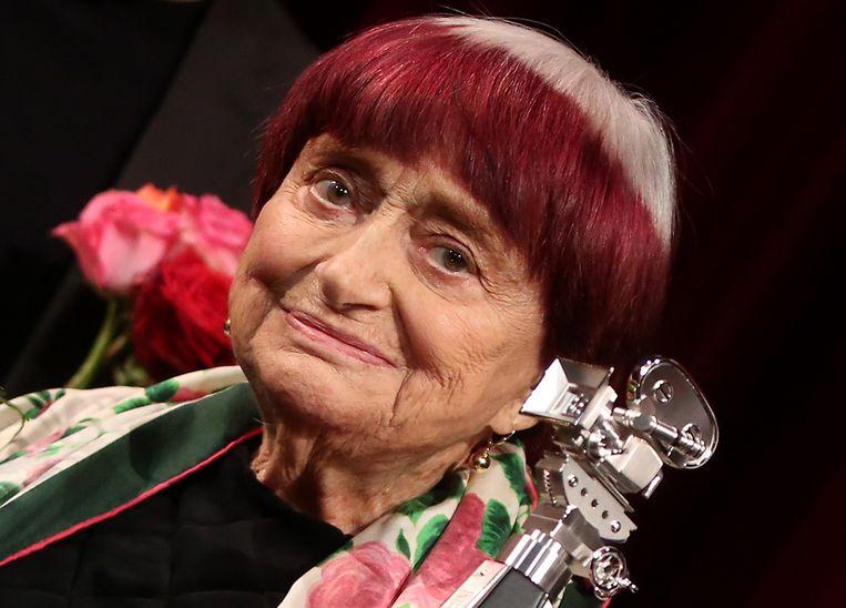De Franse cineaste Agnès Varda overleed aan kanker. Beeld EPA