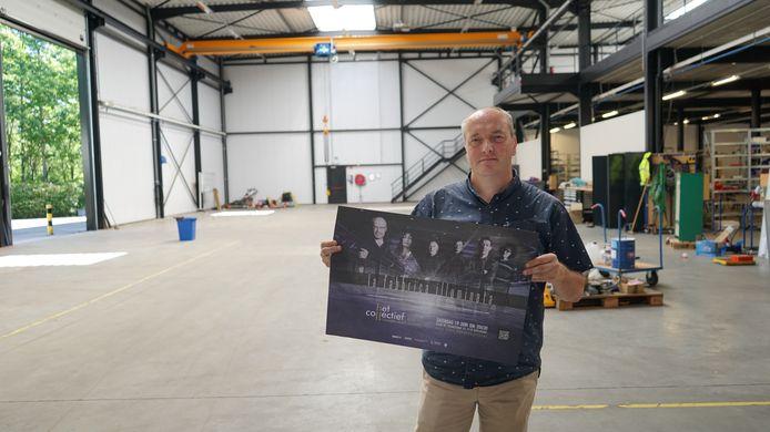 Gerrit Geerts, zakelijk leider van Het Collectief, liet zijn oog vallen op een bijzonder fabriekspand in de Gelaagstraat voor de organisatie van een concert.