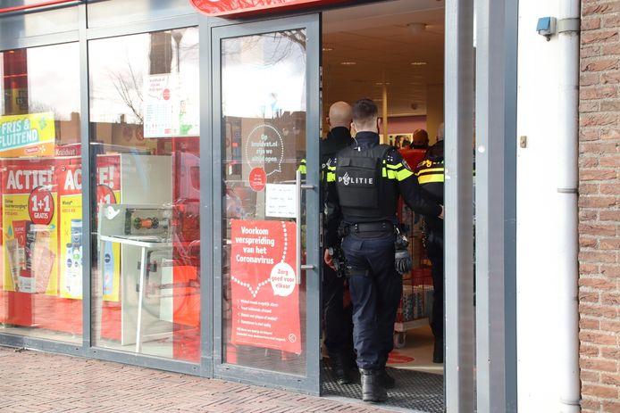 De Kruidvat in Vleuten werd op 11 maart overvallen.