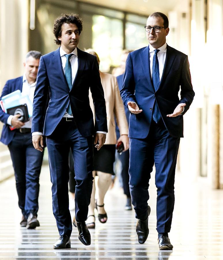 De coalitie zal de partijen van Jesse Klaver (GroenLinks) en Lodewijk Asscher (PvdA) nog nodig hebben om hun beleid door de Eerste Kamer te krijgen.