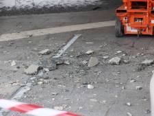 Beton kletterde naar beneden in 'veiligste gebouw'; weer was het weer de trigger van ongeluk Airport