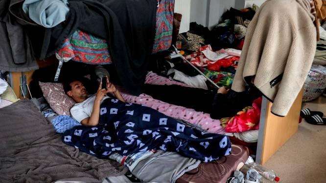 """Sans-papiers al maand lang in hongerstaking: """"We houden vol tot er een oplossing komt"""""""