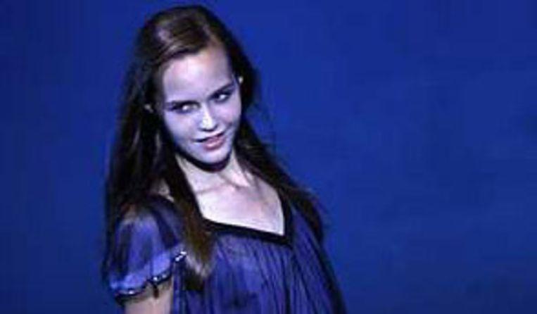 Louise Maselis tijdens de Elite Model Look 25th World Final in Sanya, China. Foto AP Beeld