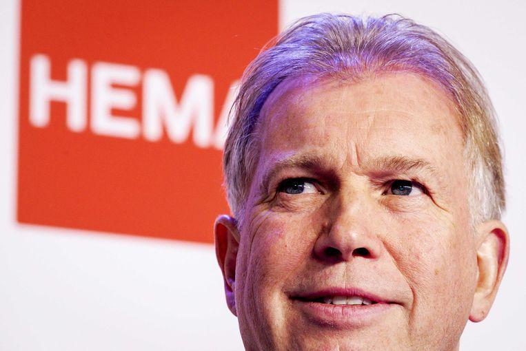 Marcel Boekhoorn, eigenaar van Hema, zoekt steun voor de winkelketen Beeld ANP