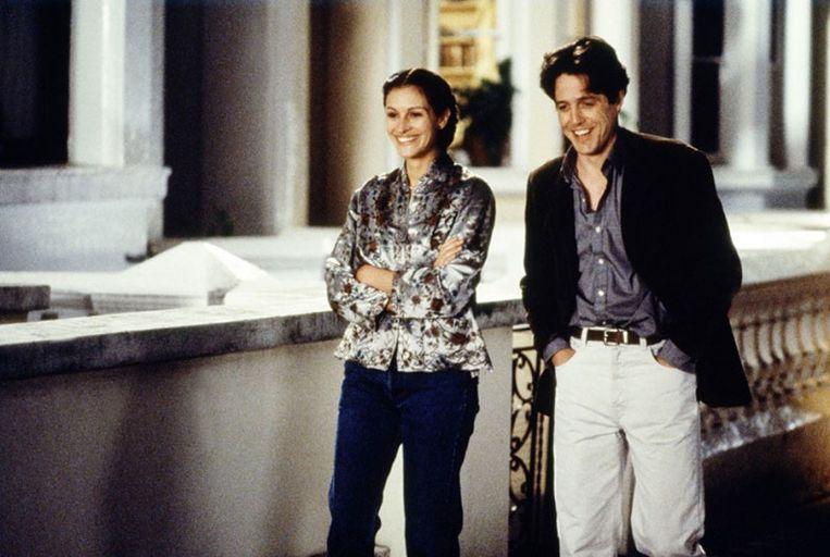 Julia Roberts en Hugh Grant. Beeld rv