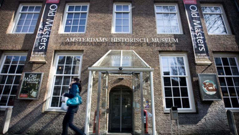 De tentoonstelling in het Amsterdams Historisch Museum over Aktie Tomaat verschilt drastisch van die van vijftien jaar geleden, toen de actie 25 jaar daarvoor was gehouden. Foto ANP Beeld
